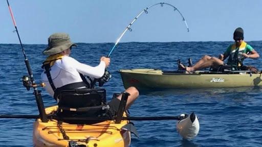 peche en kayak